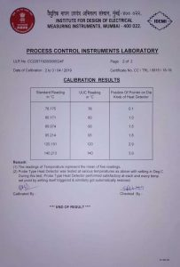 IDEMI Report Certificate